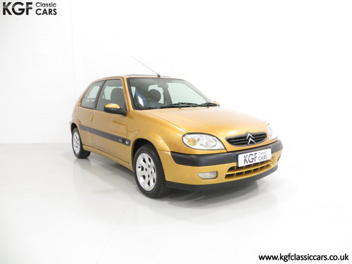 2001 An Unmodified Citroen Saxo VTR with 52,519 Miles SOLD (picture 1 of 6)