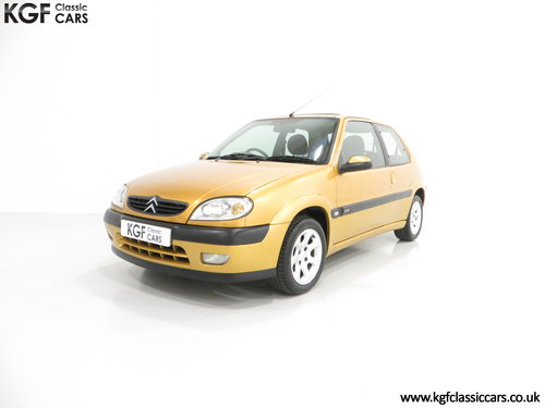 2001 An Unmodified Citroen Saxo VTR with 52,519 Miles SOLD (picture 2 of 6)