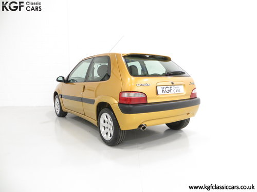 2001 An Unmodified Citroen Saxo VTR with 52,519 Miles SOLD (picture 4 of 6)