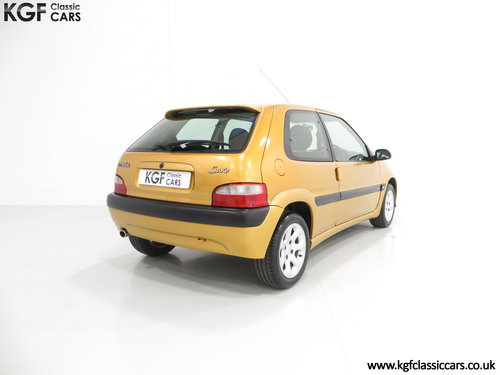 2001 An Unmodified Citroen Saxo VTR with 52,519 Miles SOLD (picture 5 of 6)