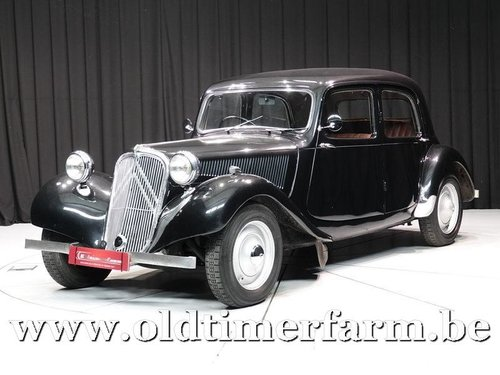1947 Citroën Traction Avant 'Light fifteen' Black '47 For Sale (picture 1 of 6)