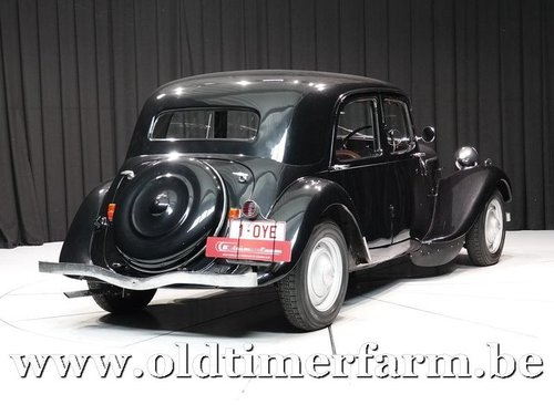 1947 Citroën Traction Avant 'Light fifteen' Black '47 For Sale (picture 2 of 6)