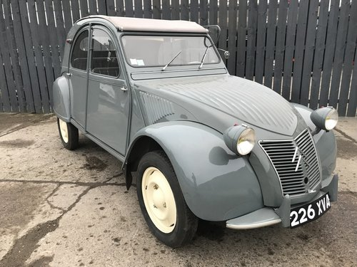 1956 citroen 2cv az fully restored *mint* For Sale (picture 1 of 6)