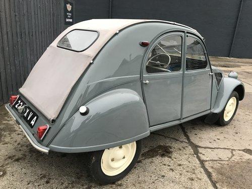 1956 citroen 2cv az fully restored *mint* For Sale (picture 2 of 6)