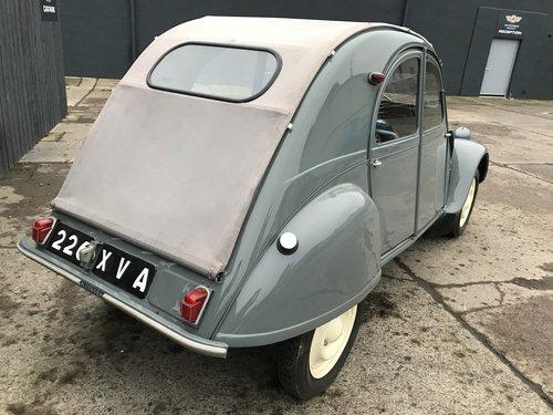 1956 citroen 2cv az fully restored *mint* For Sale (picture 4 of 6)