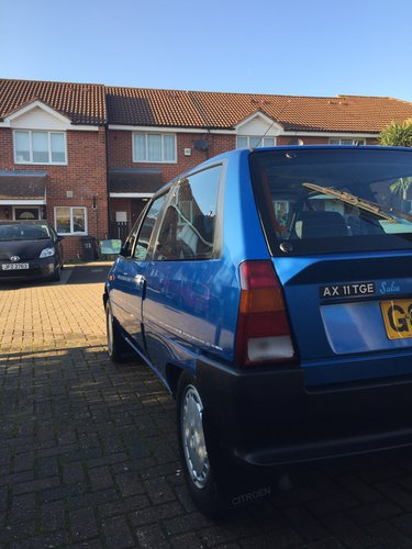 1990 Citroen AX Salsa - one of only two left in the UK For Sale (picture 4 of 6)