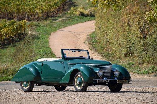 1939 Citroën Traction 11BL Cabriolet par Clabot For Sale by Auction (picture 1 of 5)