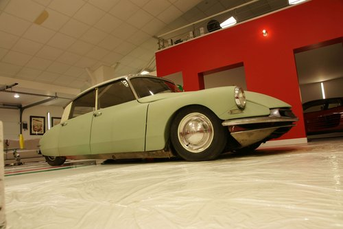 1956 Citroën DS 19 No reserve For Sale by Auction (picture 1 of 3)