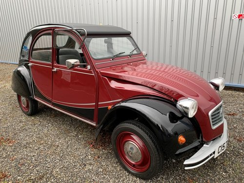 1986 CITROEN 2CV Charleston Special SOLD (picture 1 of 6)