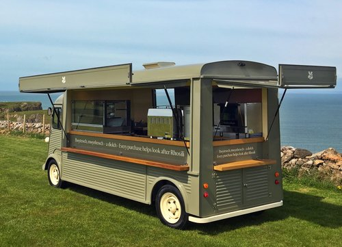 1960 Citroen H Van Long wheel Base, 5.5m, High Roof. Food/Bar For Sale (picture 3 of 6)