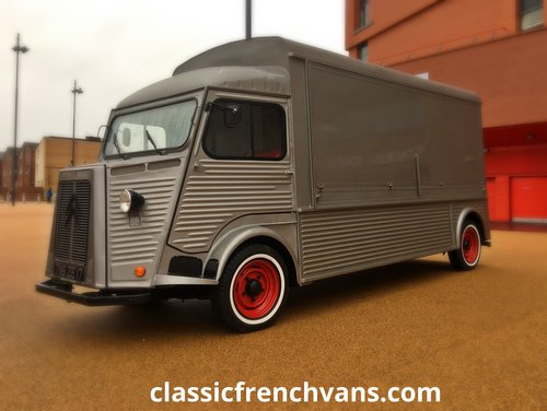 1960 Citroen H Van Long wheel Base, 5.5m, High Roof. Food/Bar For Sale (picture 5 of 6)