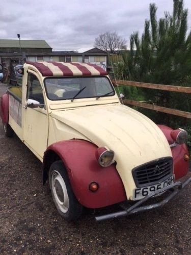 1989 2cv pick up truck For Sale (picture 4 of 6)