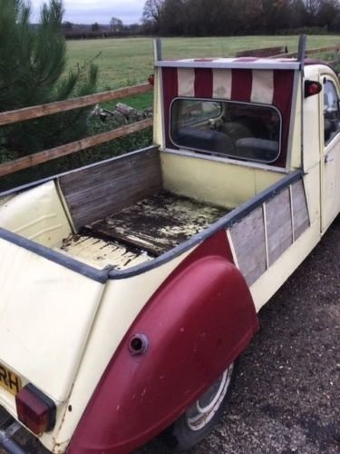 1989 2cv pick up truck For Sale (picture 6 of 6)