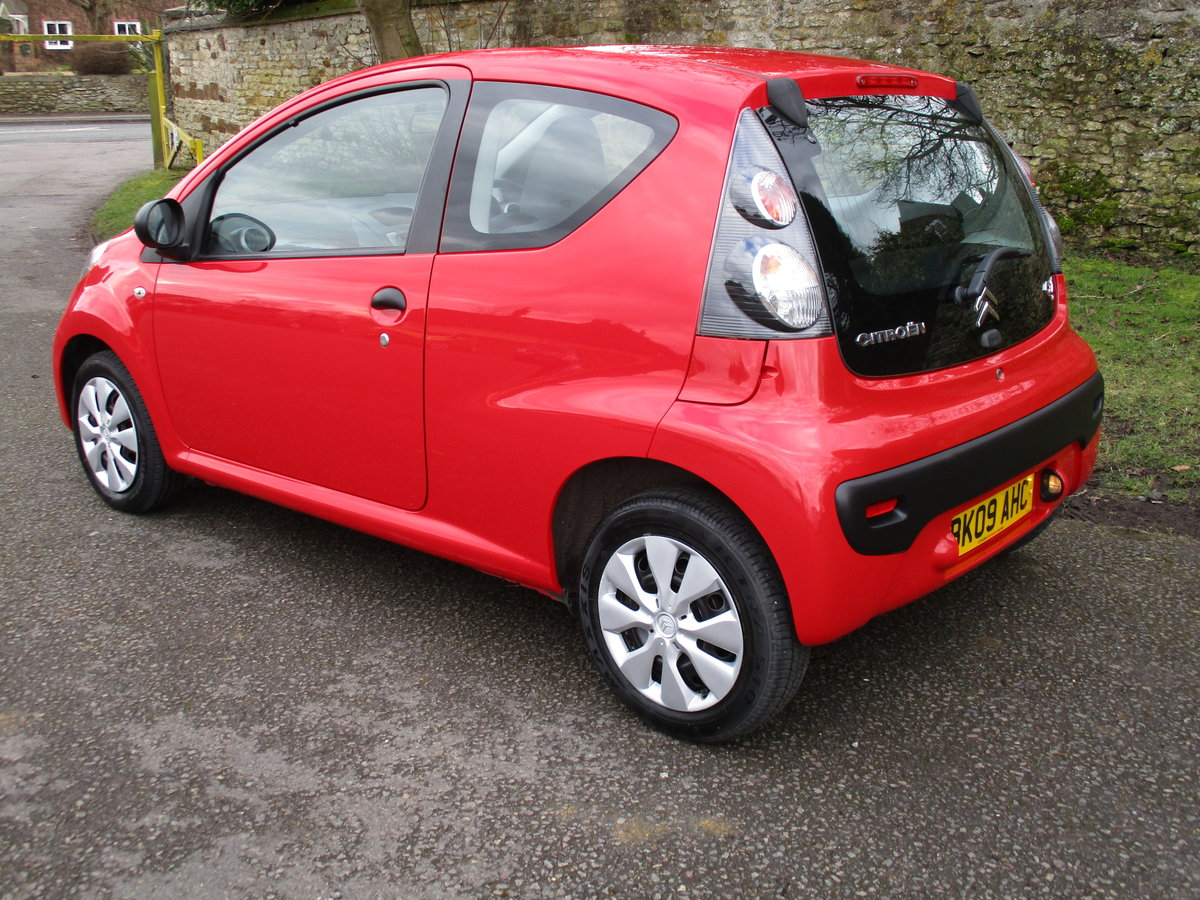 2009 Exceptional low mileage Citroen C1 For Sale (picture 4 of 6)