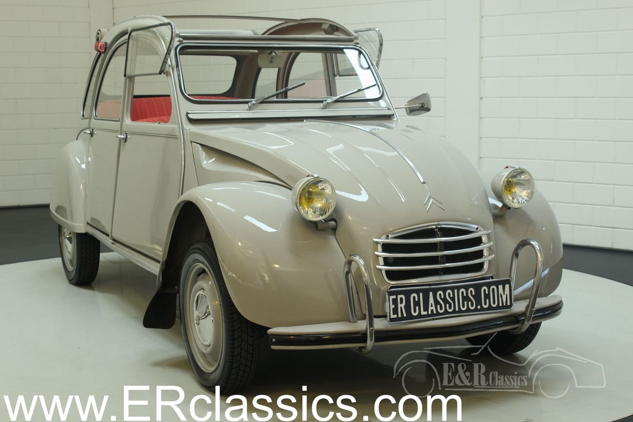 Citroën 2CV AZAM 1966 Body-off restored For Sale (picture 1 of 6)