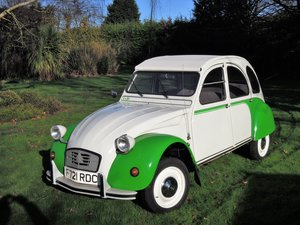 1987 Citroen 2CV Dolly only 13,323 miles, freshly restored For Sale by Auction