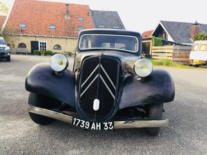 1936 Traction Avant 11A. Unique Traction Avant