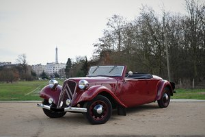 1938 – Citroën Traction 11 B Cabriolet For Sale by Auction