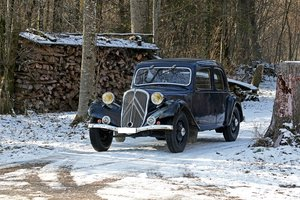 1934 - Citroën Traction 7 A   SOLD by Auction