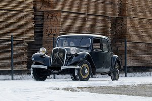 1934 - Citroën Traction 11 A Limousine SOLD by Auction
