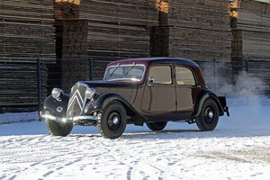1936 - Citroën Traction 7 C SOLD by Auction