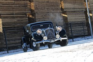 1939 - Citroën Traction Big 6  SOLD by Auction