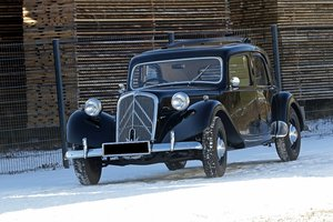 1952 - Citroën Traction Big 6  For Sale by Auction