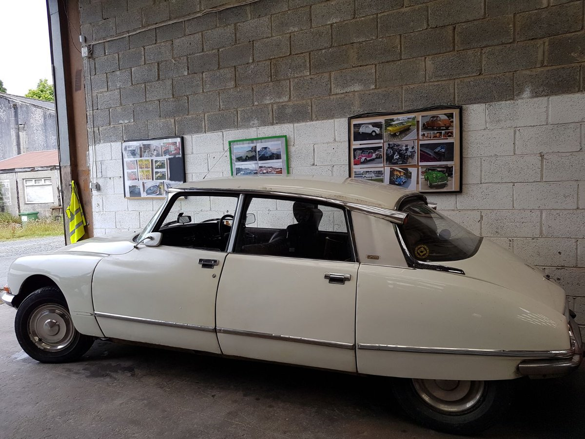 1973 Citroen ds23 efi pallas manual rhd rare For Sale (picture 3 of 6)