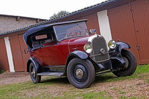 1927 - Citroën B14 Torpedo SOLD by Auction