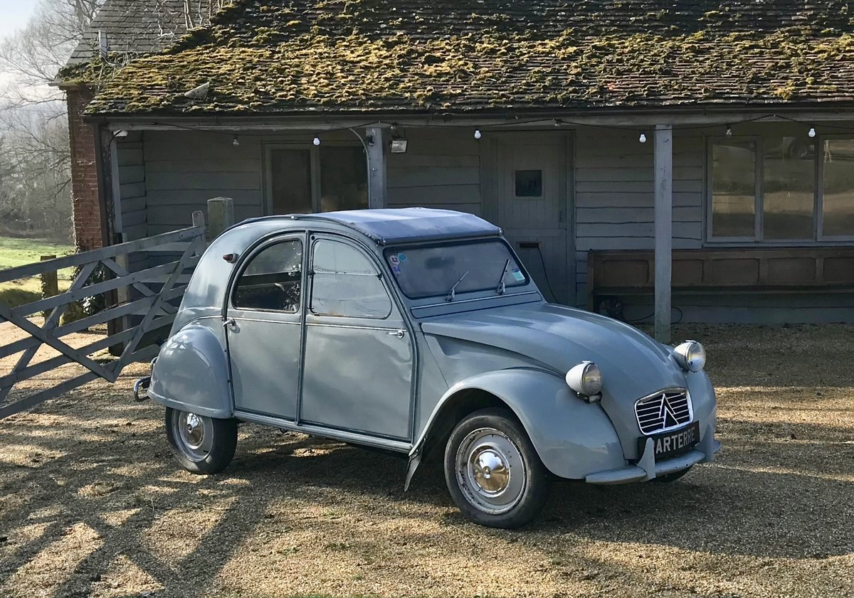 1961 CITROEN 2CV SOLD (picture 1 of 6)