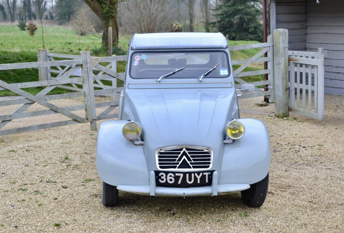 1961 CITROEN 2CV SOLD (picture 2 of 6)