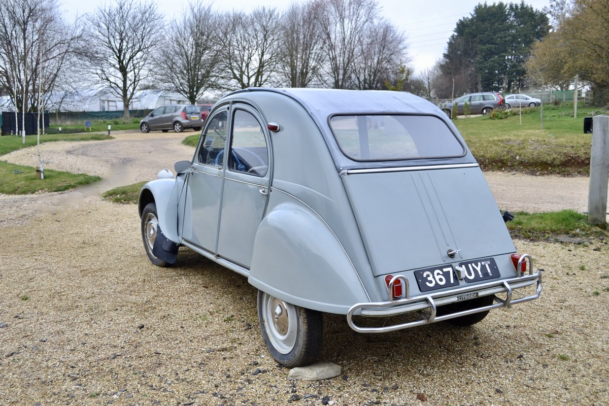 1961 CITROEN 2CV SOLD (picture 3 of 6)