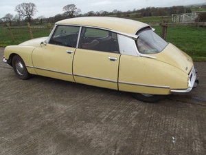 1972 Citroen DS 20/5. Rare Right Hand drive.