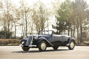 1953 - Citroën Traction Avant 'Six' Roadster by Peacock SOLD by Auction