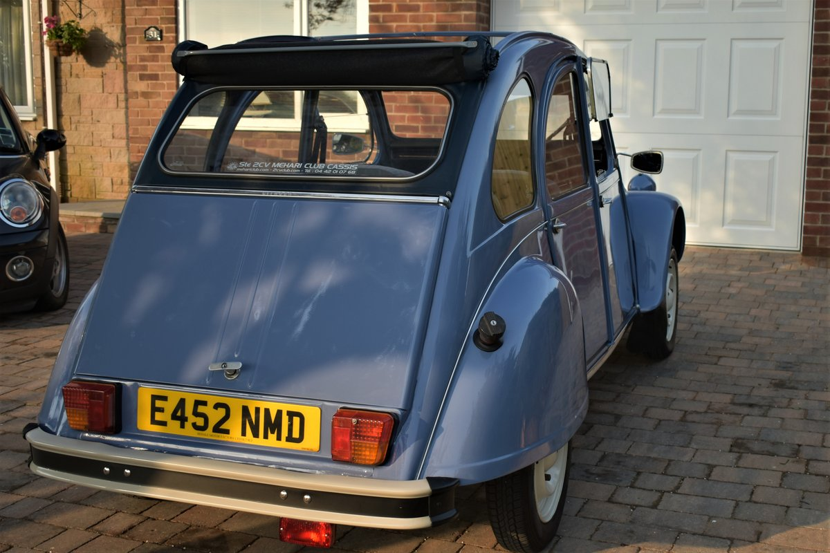 1987 Fully renovated 2CV Special  For Sale (picture 5 of 6)