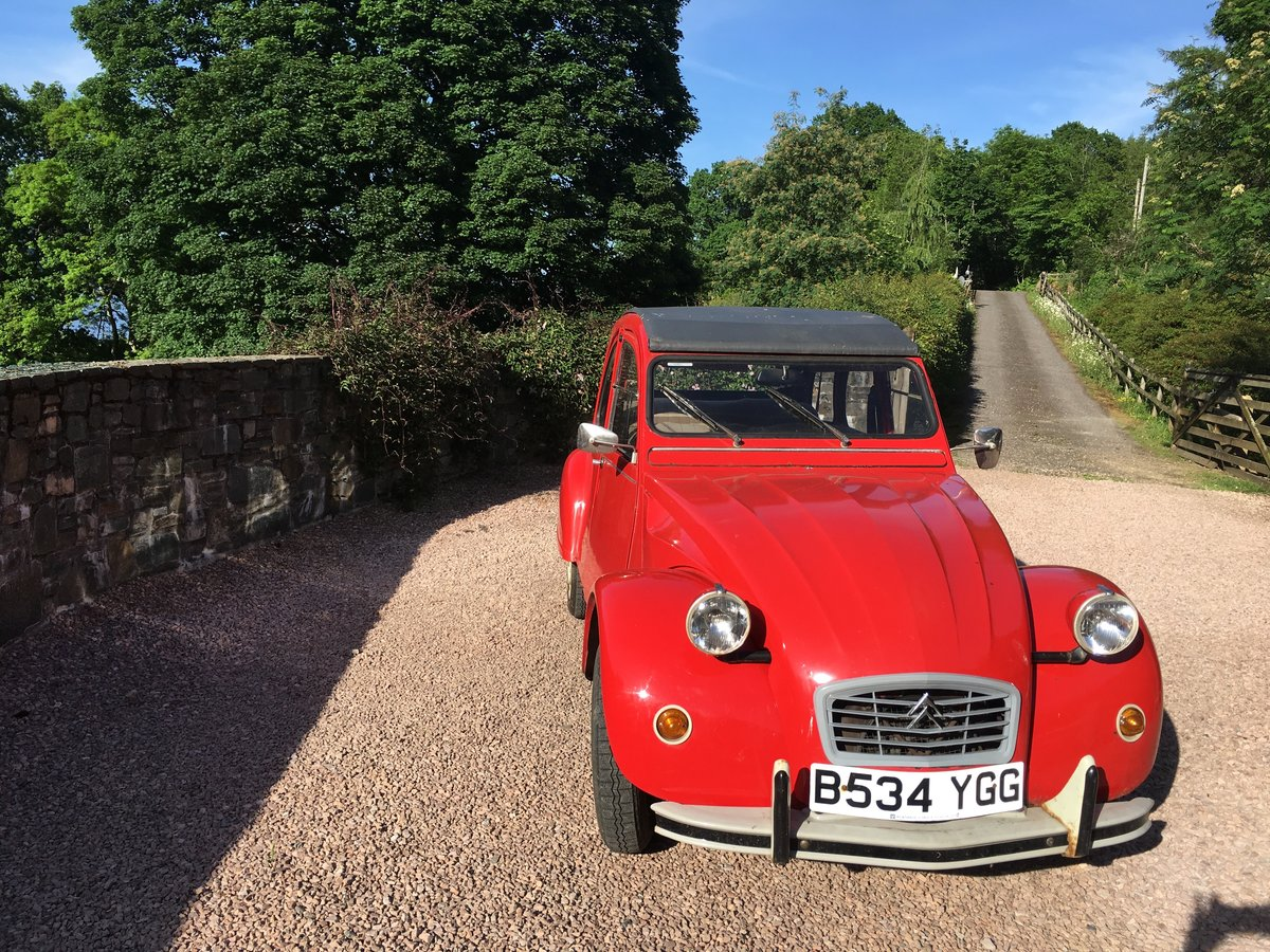 1984 2CV6 Special For Sale - original & well maintained For Sale (picture 2 of 5)