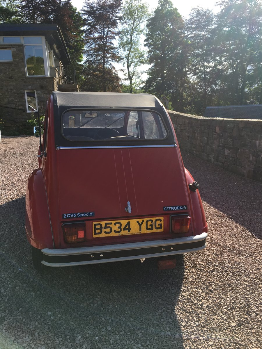 1984 2CV6 Special For Sale - original & well maintained For Sale (picture 4 of 5)