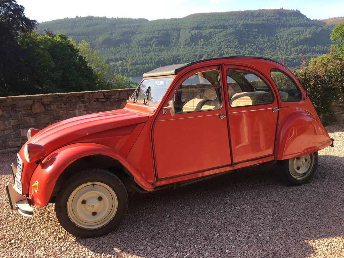 1984 2CV6 Special For Sale - original & well maintained For Sale (picture 5 of 5)