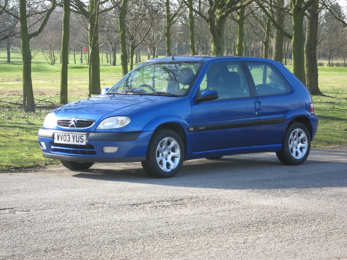 2003 `03` CITROEN VTR 1.6 66,000 miles  For Sale (picture 1 of 6)