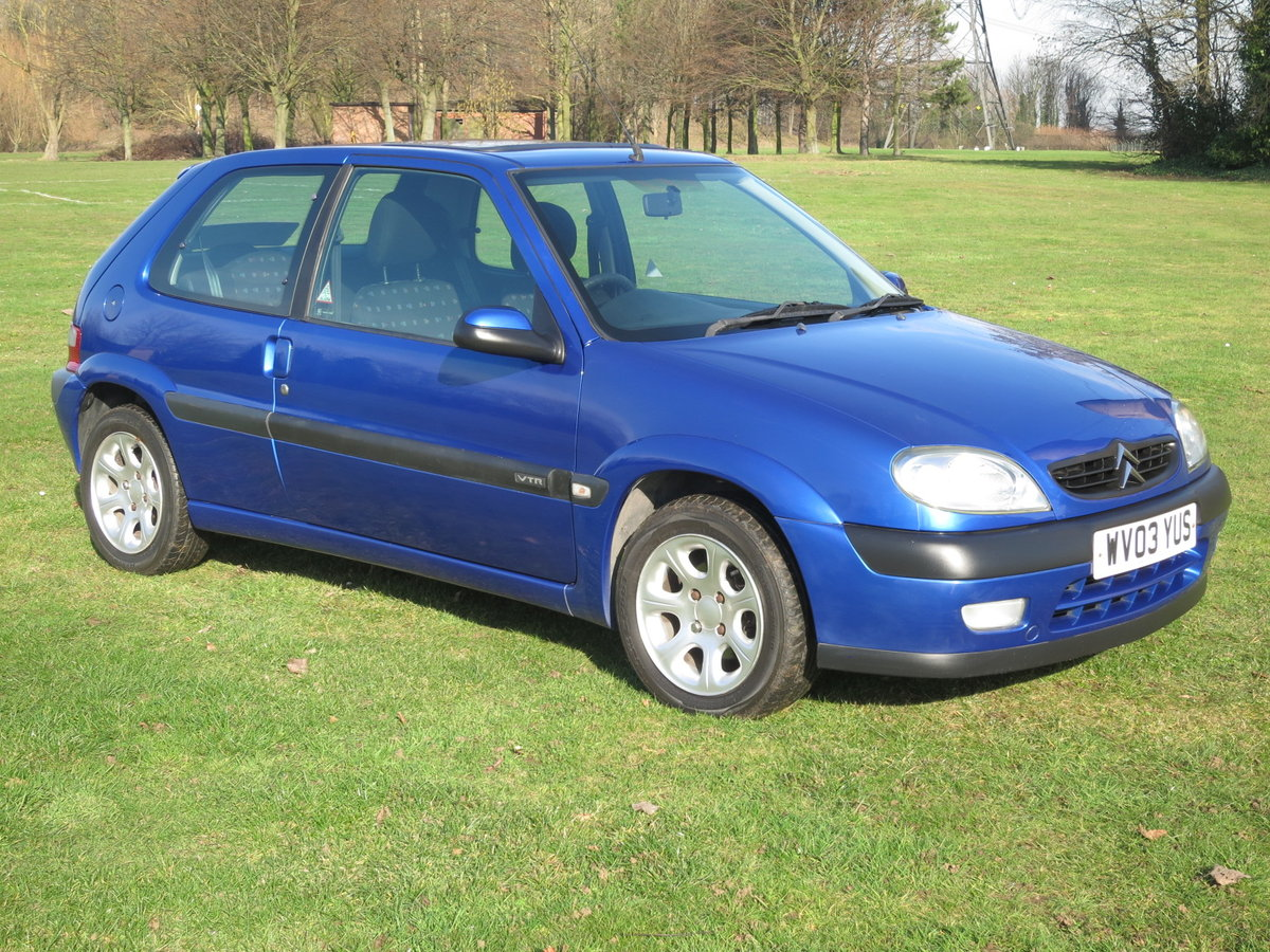 2003 `03` CITROEN VTR 1.6 66,000 miles  For Sale (picture 2 of 6)