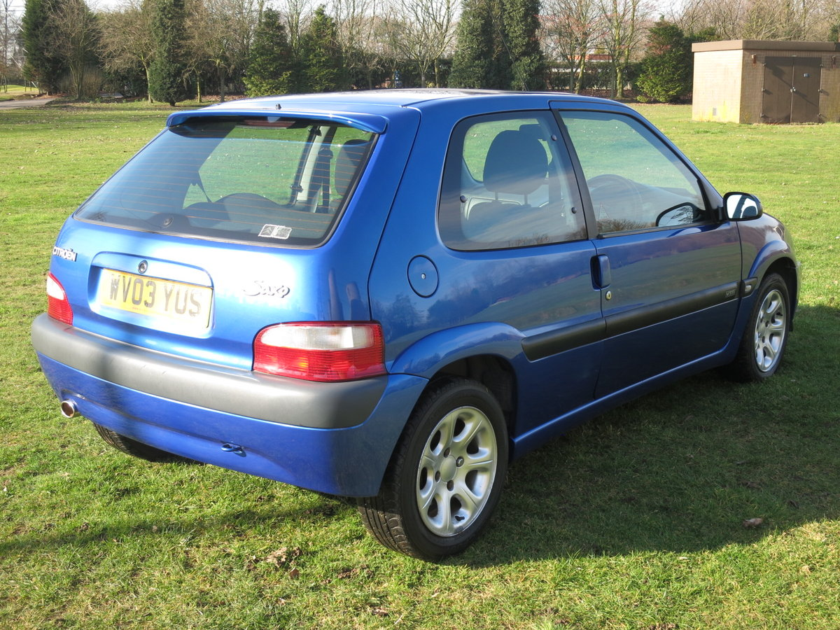 2003 `03` CITROEN VTR 1.6 66,000 miles  For Sale (picture 3 of 6)