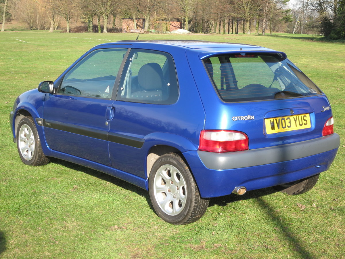 2003 `03` CITROEN VTR 1.6 66,000 miles  For Sale (picture 4 of 6)