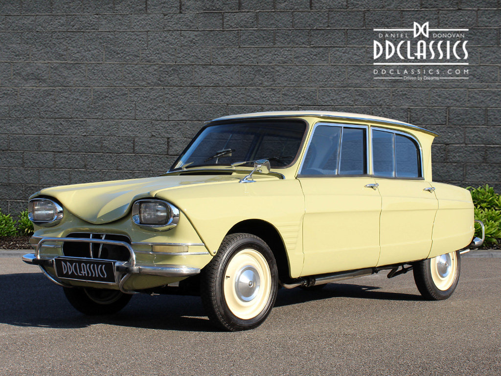 1963 Citroen Ami 6 Concours example (LHD) For Sale (picture 1 of 6)