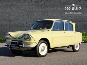 1963 Citroen Ami 6 Concours example (LHD)