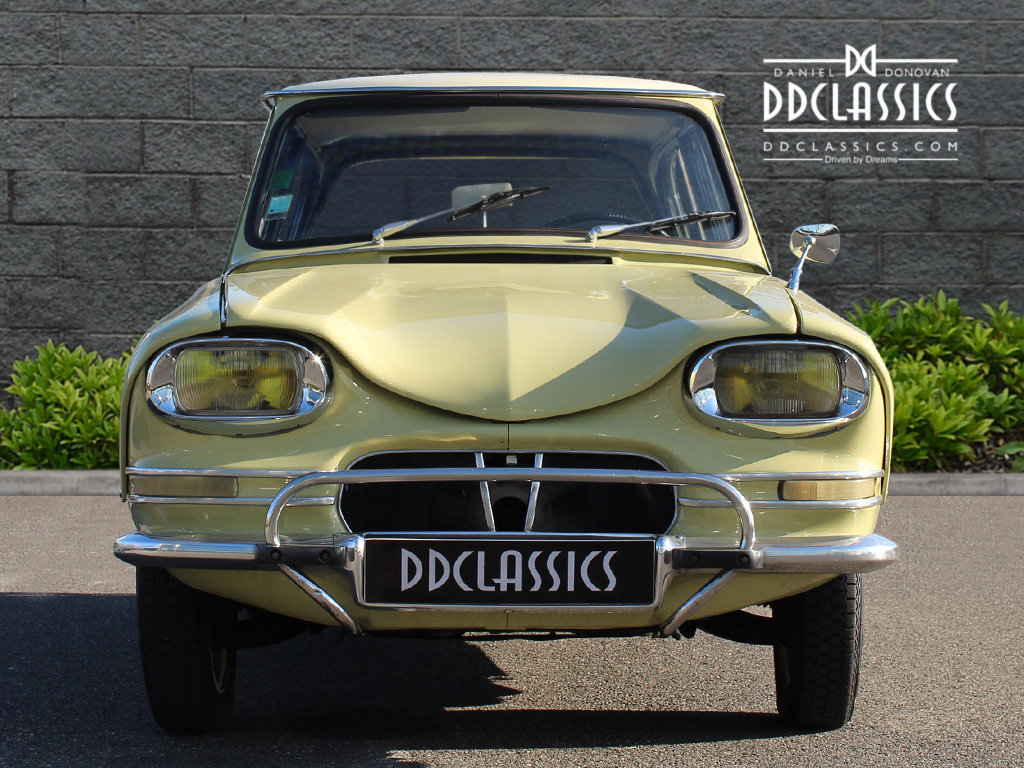 1963 Citroen Ami 6 Concours example (LHD) For Sale (picture 4 of 6)