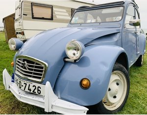 1986 25,000km French 2CV LHD For Sale