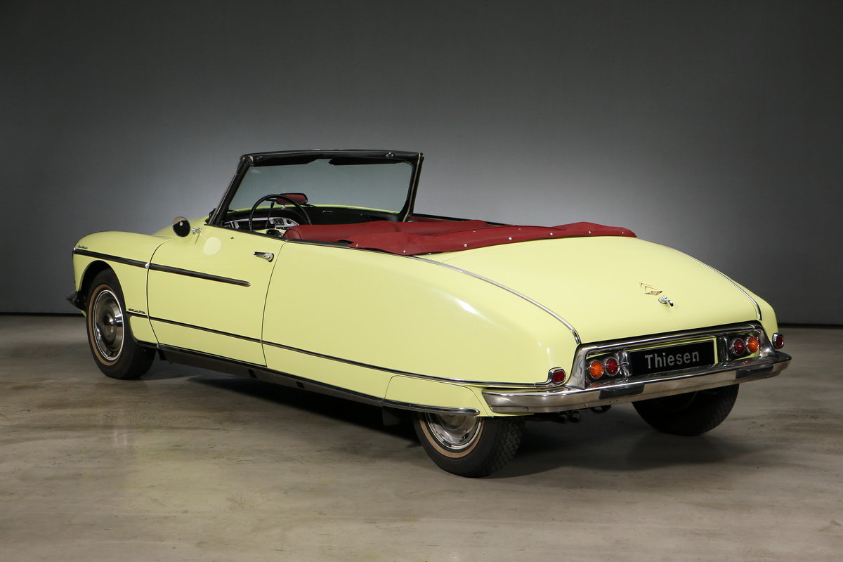 1969 Citroen DS Convertible Palm Beach For Sale (picture 3 of 6)