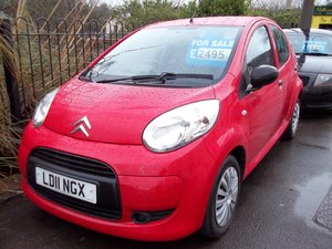2011 Citroen C1 1.0 VTR For Sale