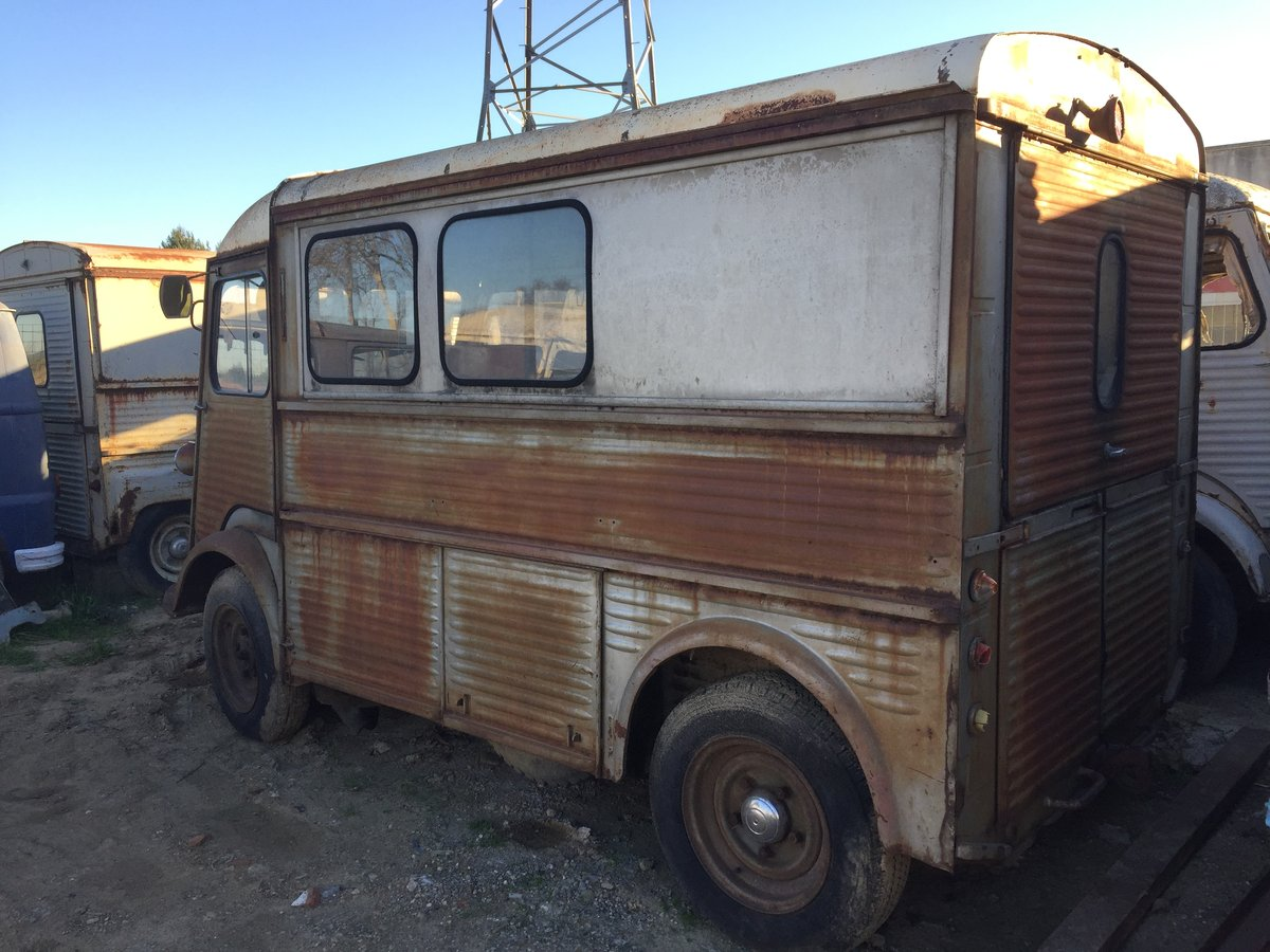 1976 Citroen HY / Tube, ideal food truck For Sale (picture 2 of 6)