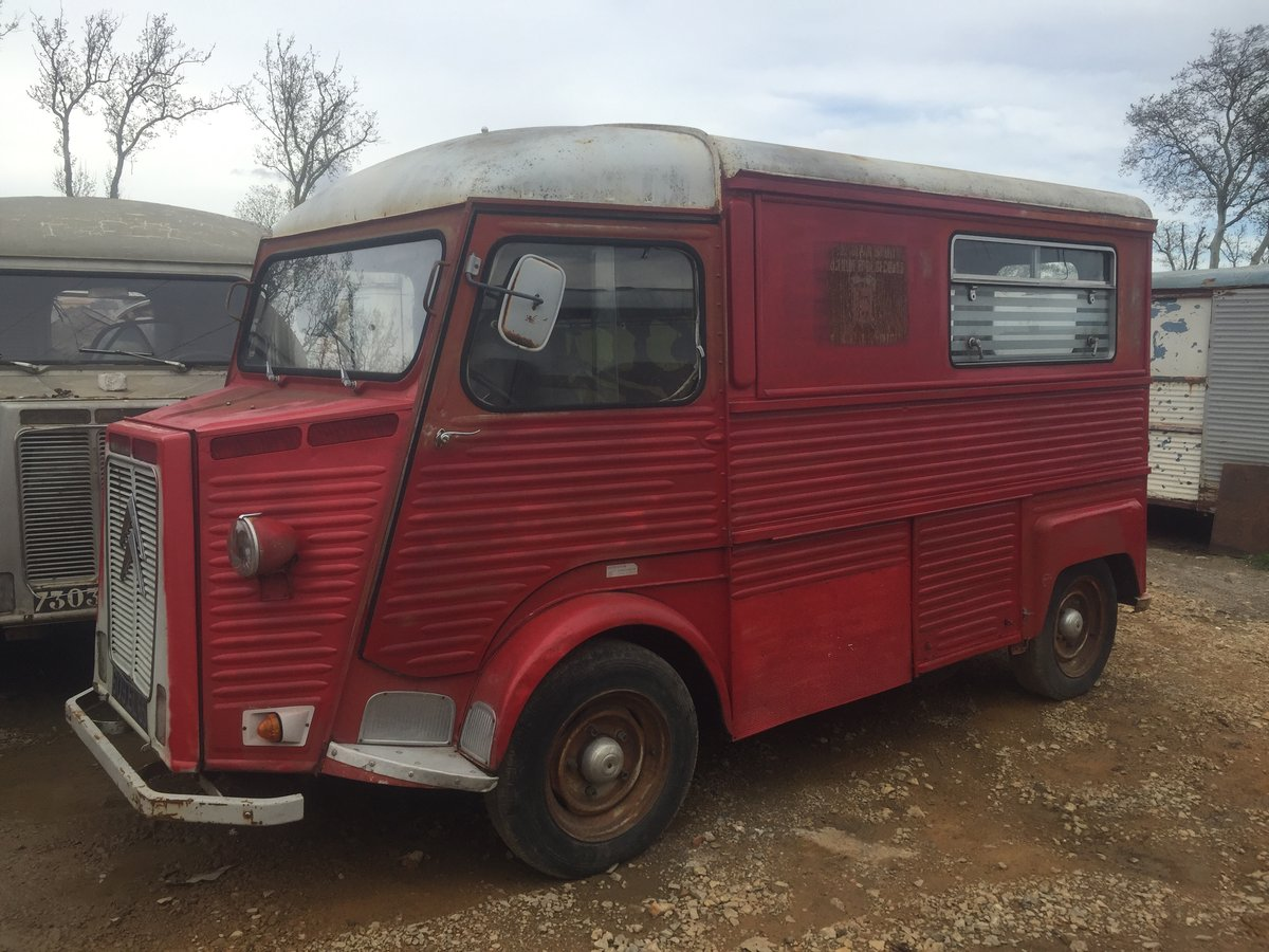 1975 Citroen HY van, running engine, ideal food truck  For Sale (picture 1 of 5)